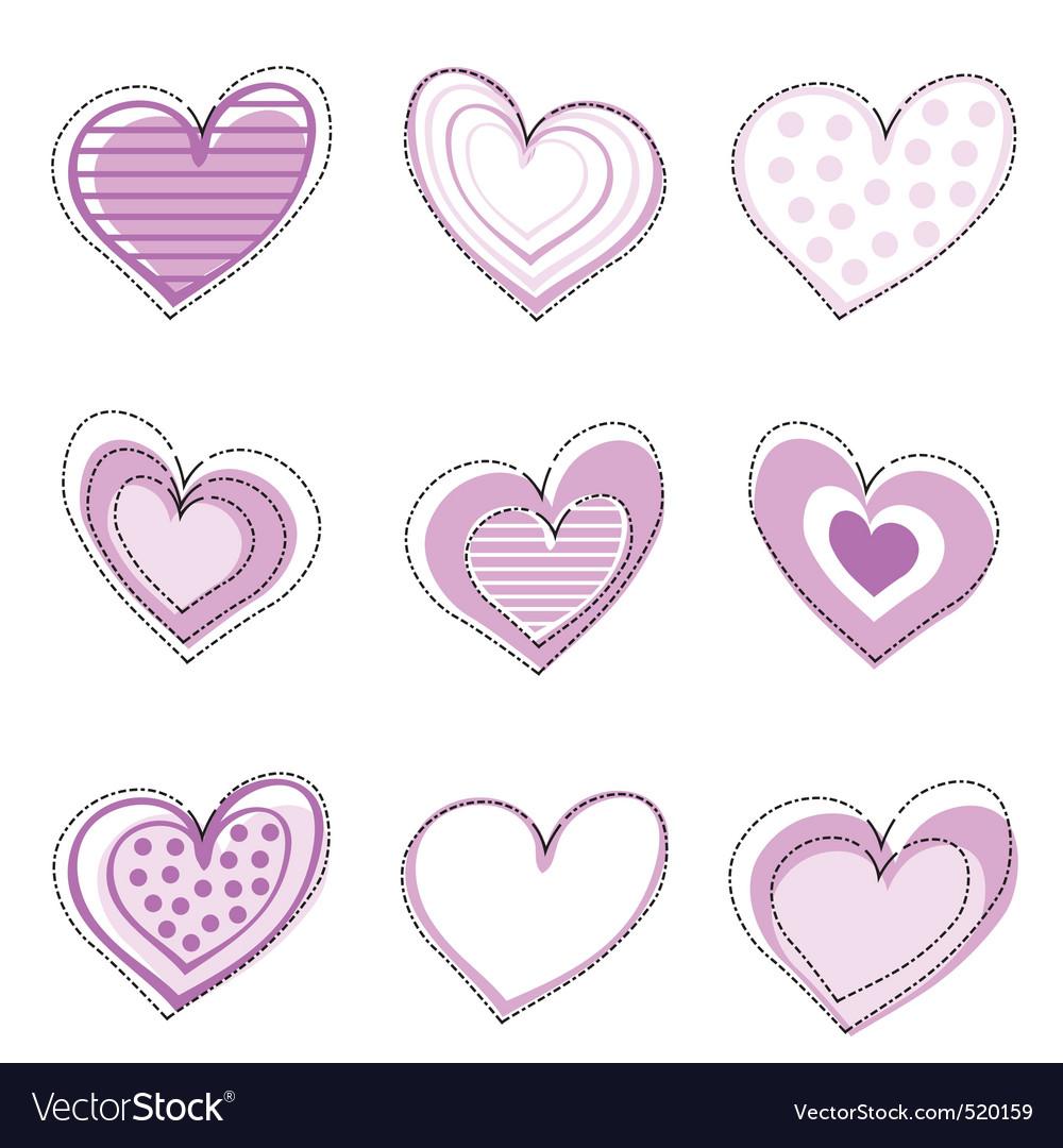 Heart seamless