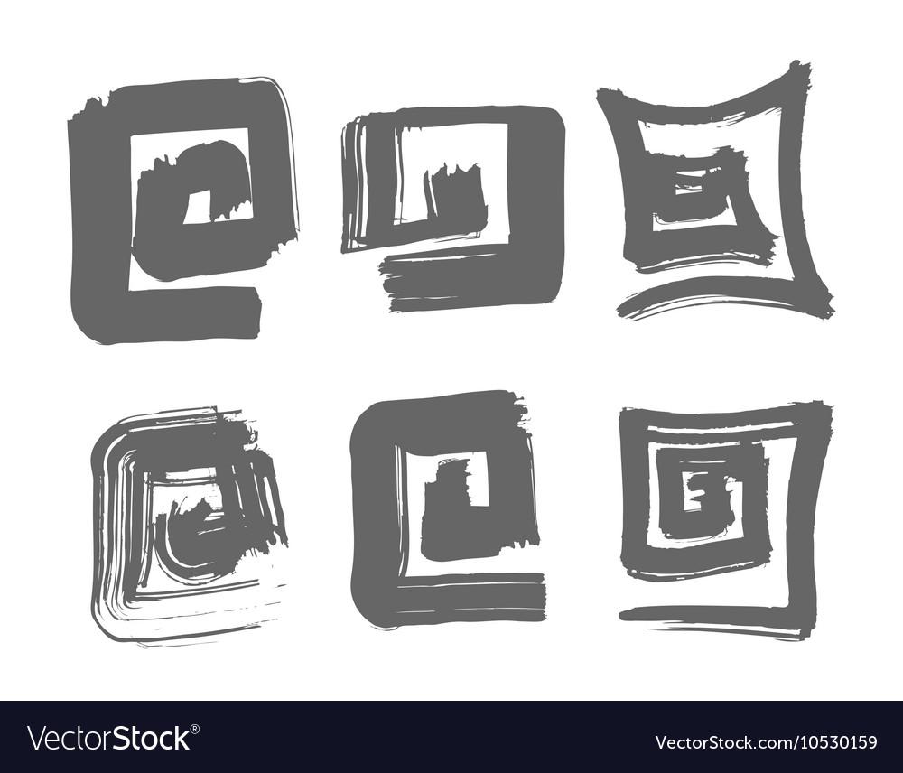 Labyrinth hand drawn vector image