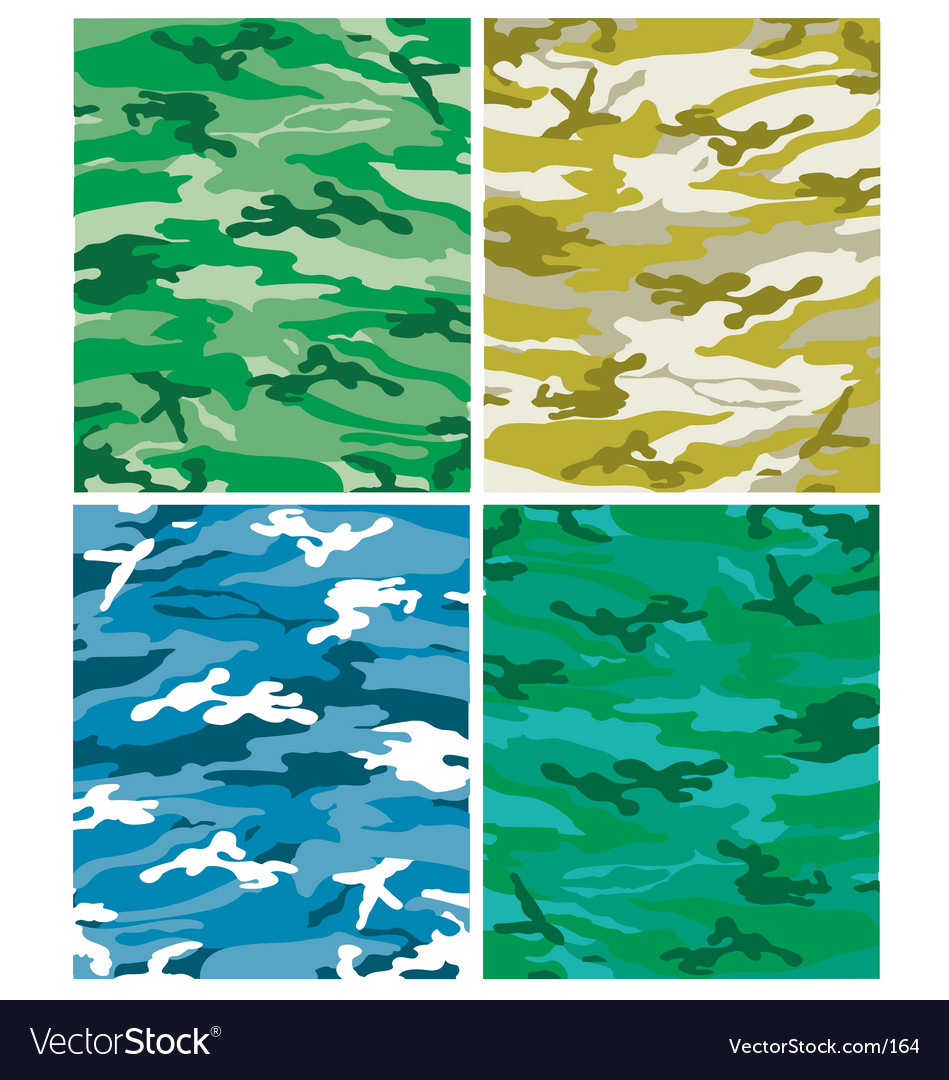 Camoflague patterns