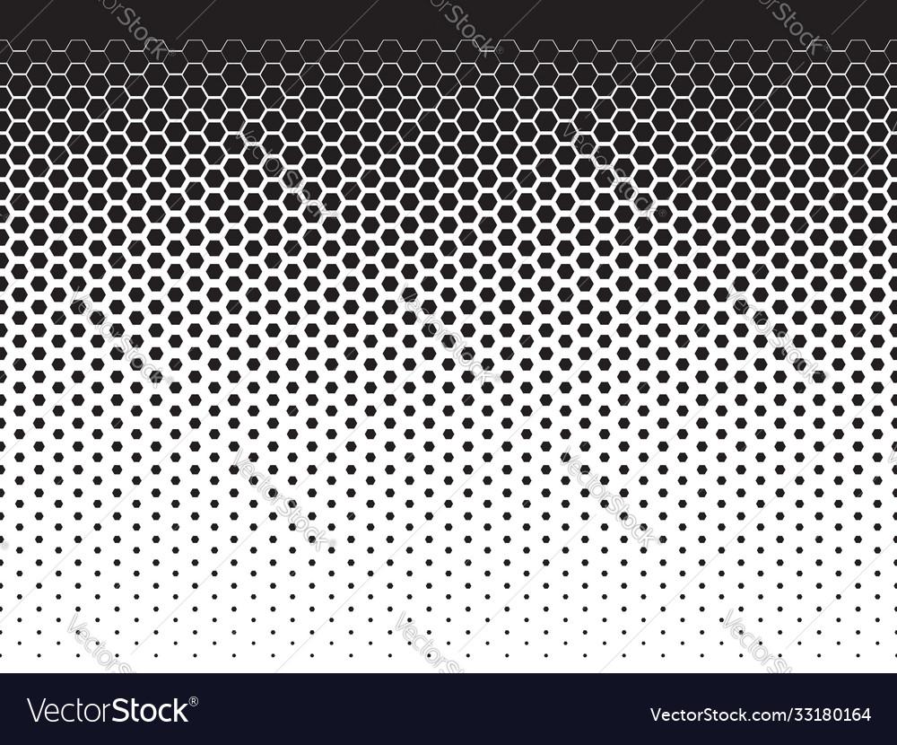 Halftpne geometric pattern seamless background