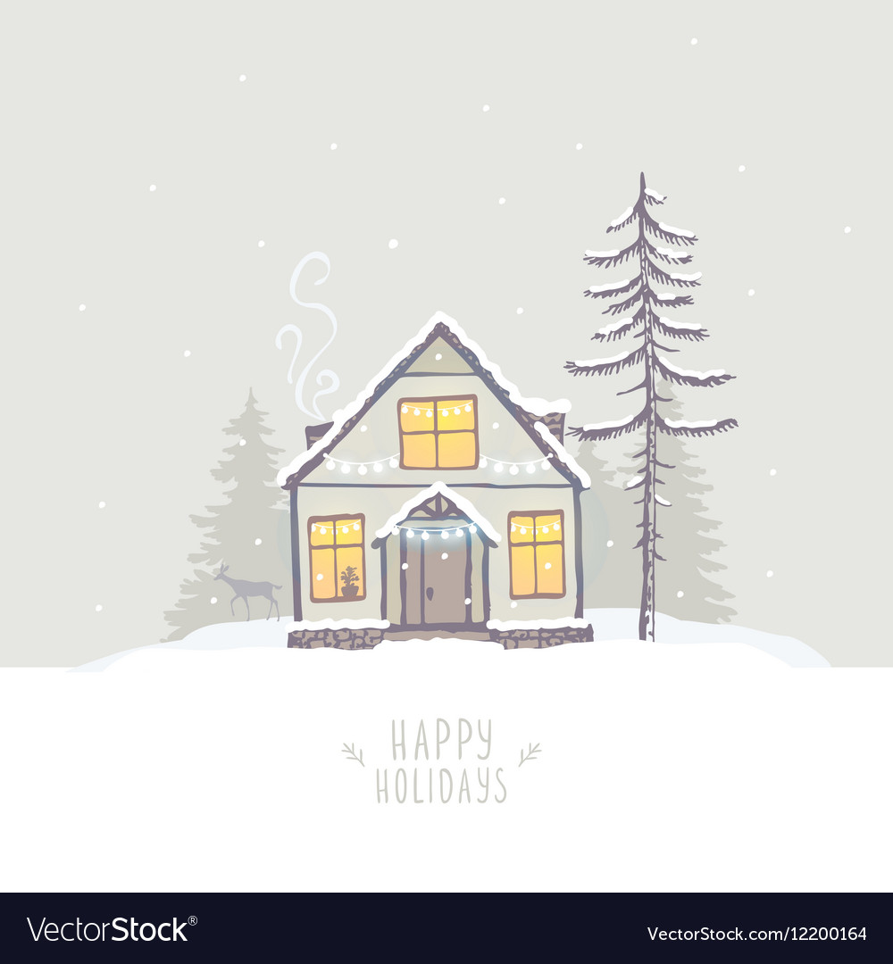 House winter