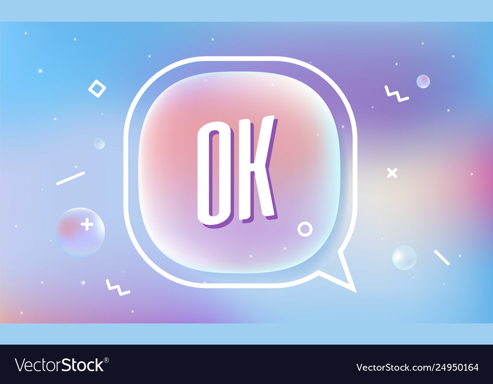Ok in design banner template for web
