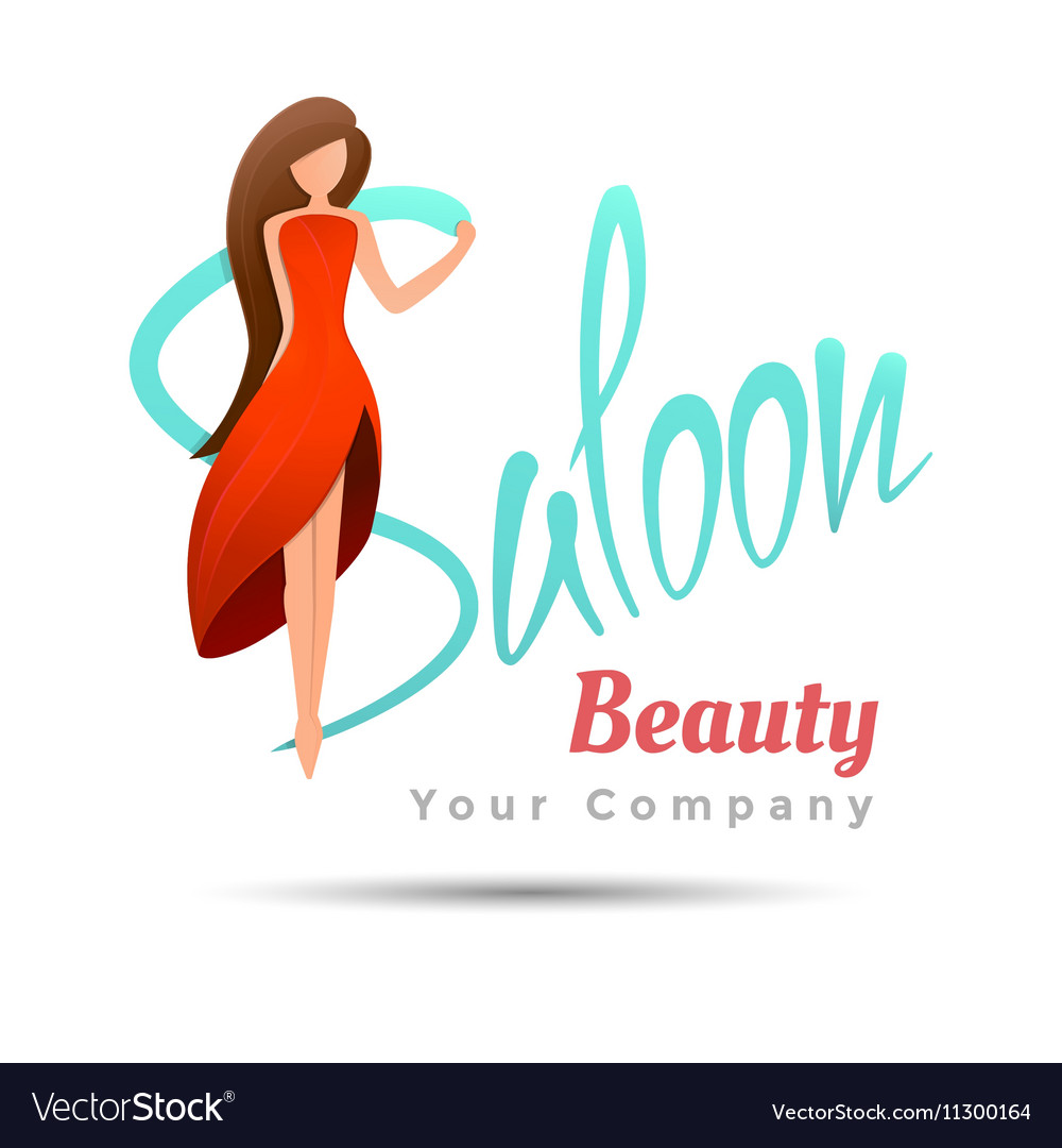 Saloon logo design template for your business vector image friedricerecipe Choice Image