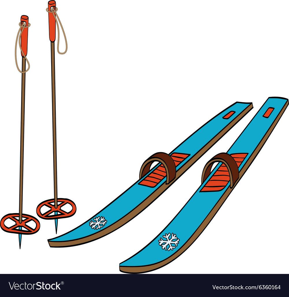 картинки в векторе лыжи фотостудий уссурийске