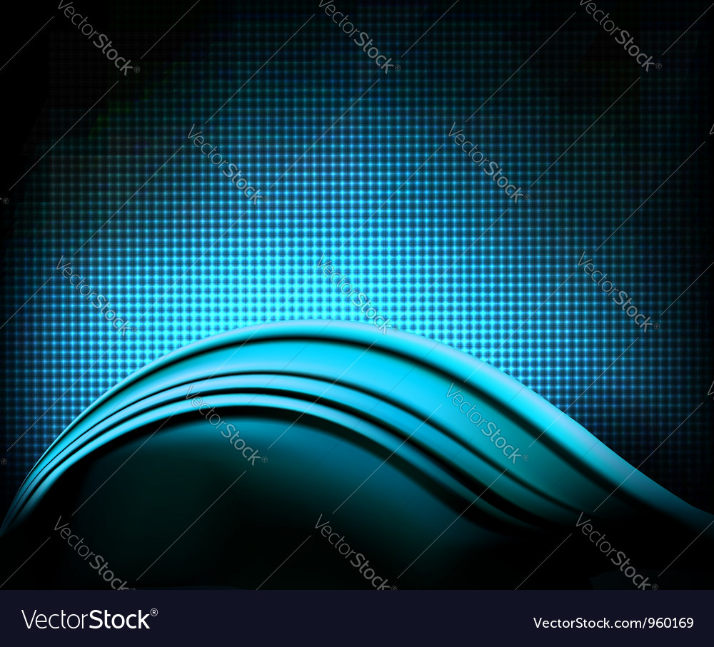 Abstract Green Neon Background