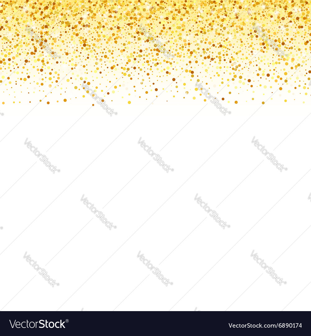 Abstract gold dust glitter star wave