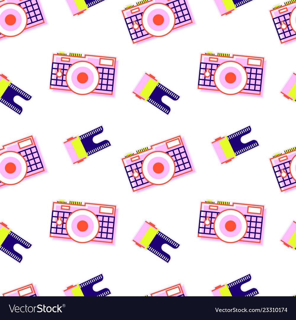 Camera pattern film