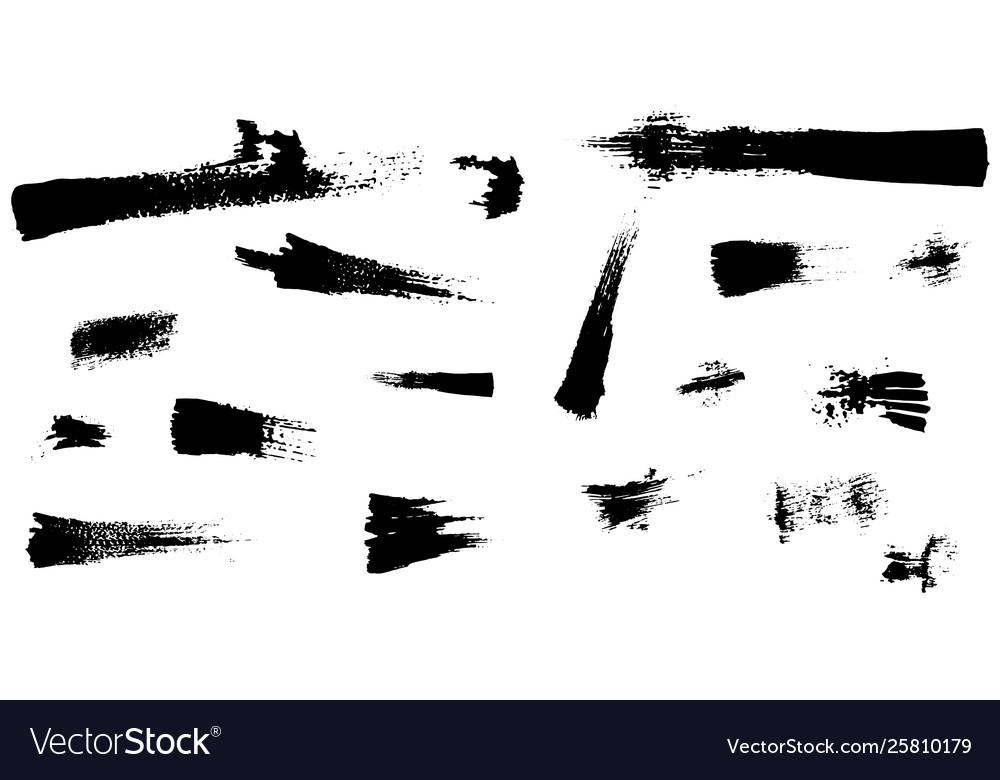 Black paint ink