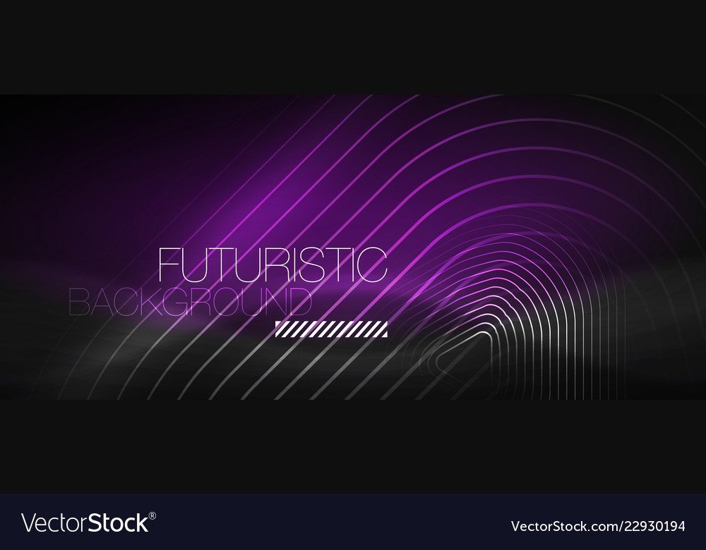 Dark black abstract background with neon colors