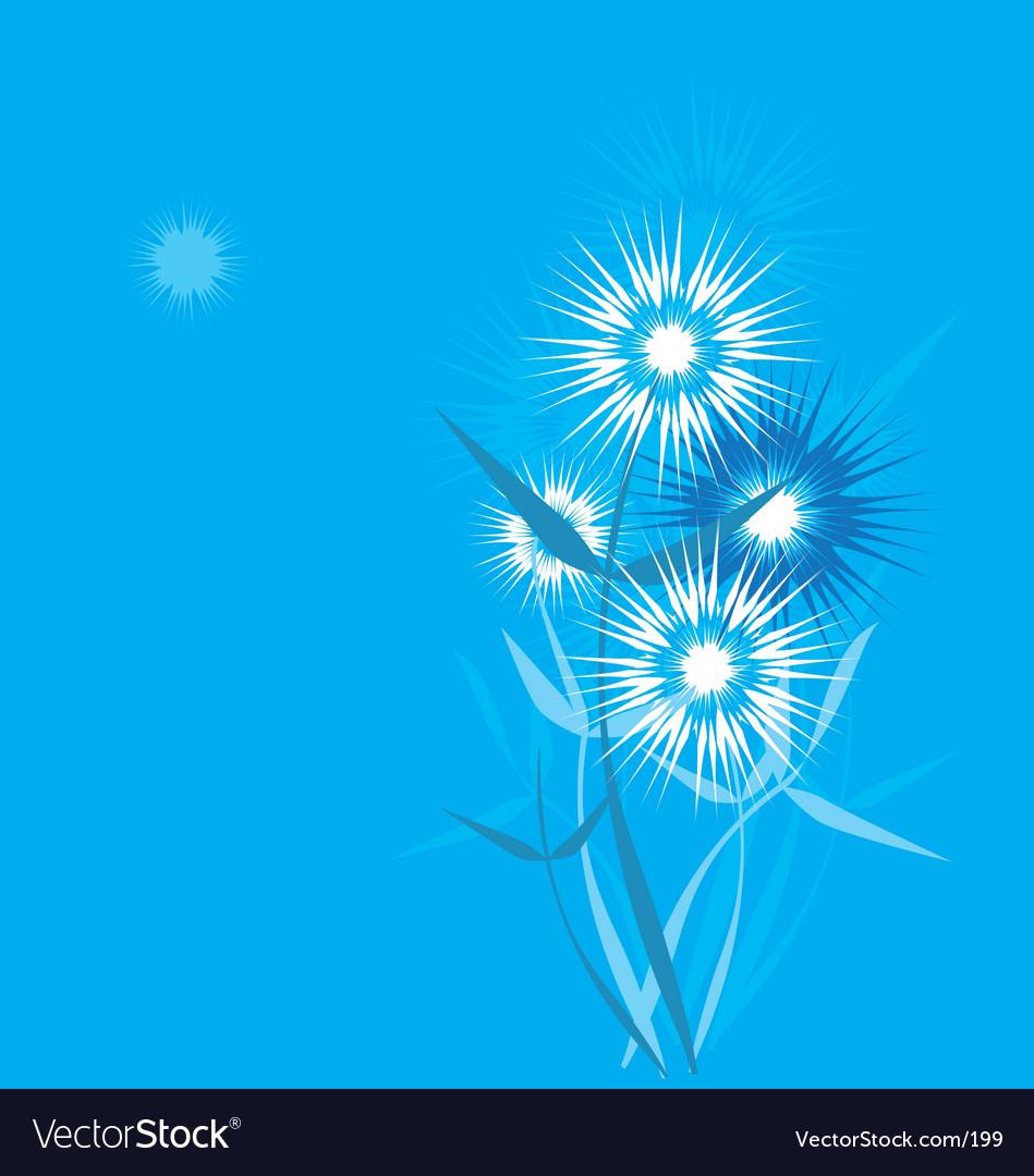 Dandelion stylized