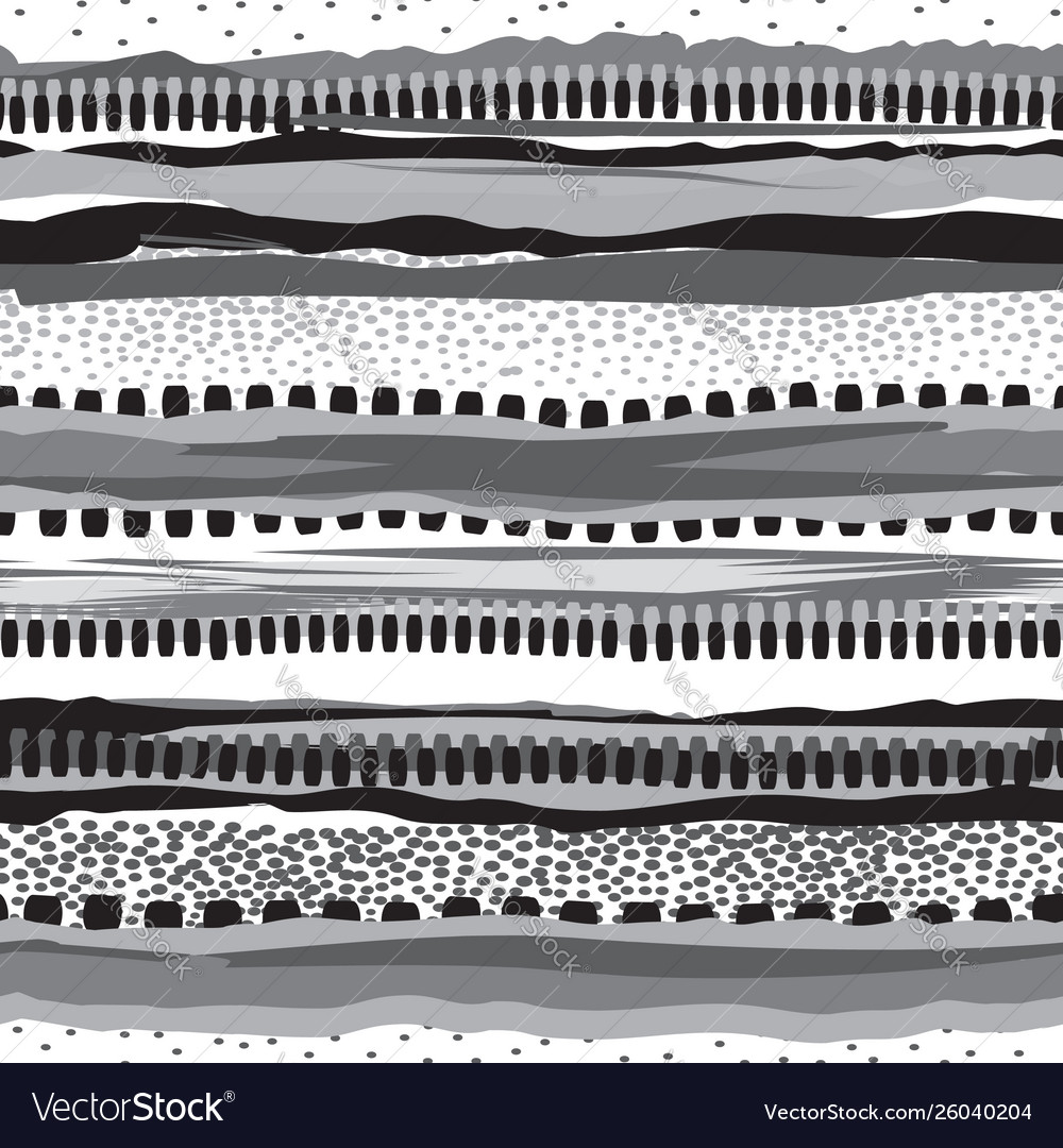 Striped native print design grunge stripes
