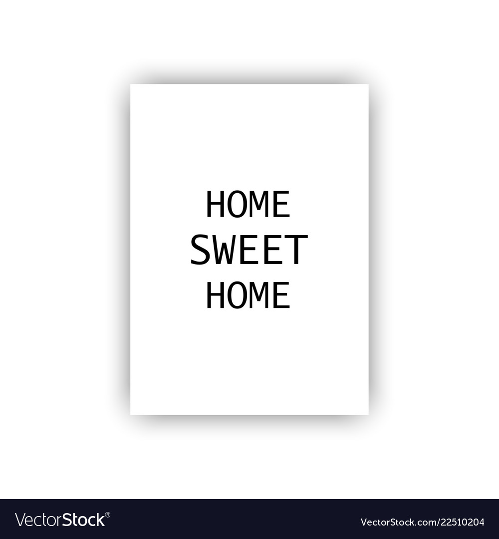 Template cover or poster with different text home