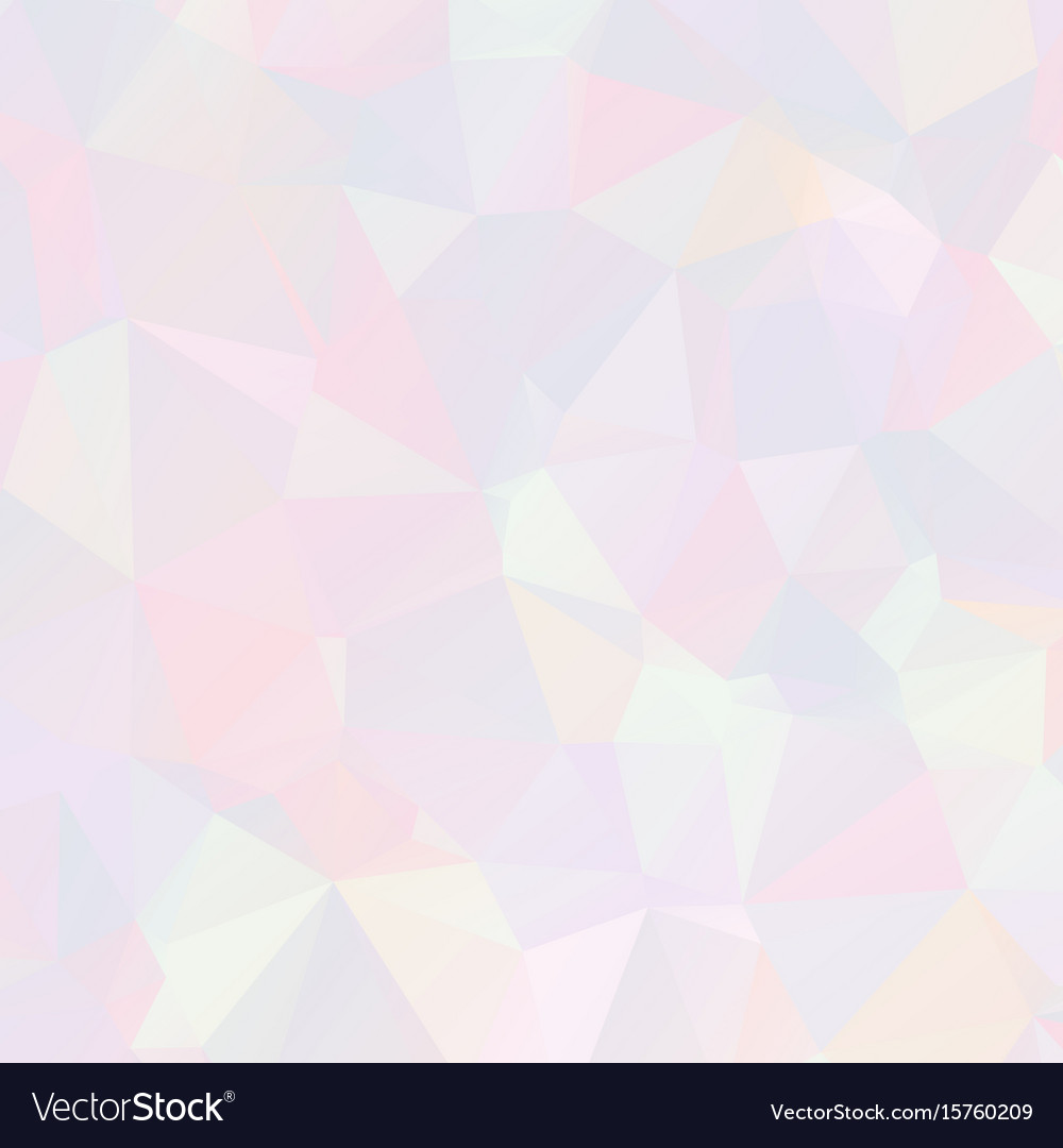 Abstract pastel mosaic background vector image