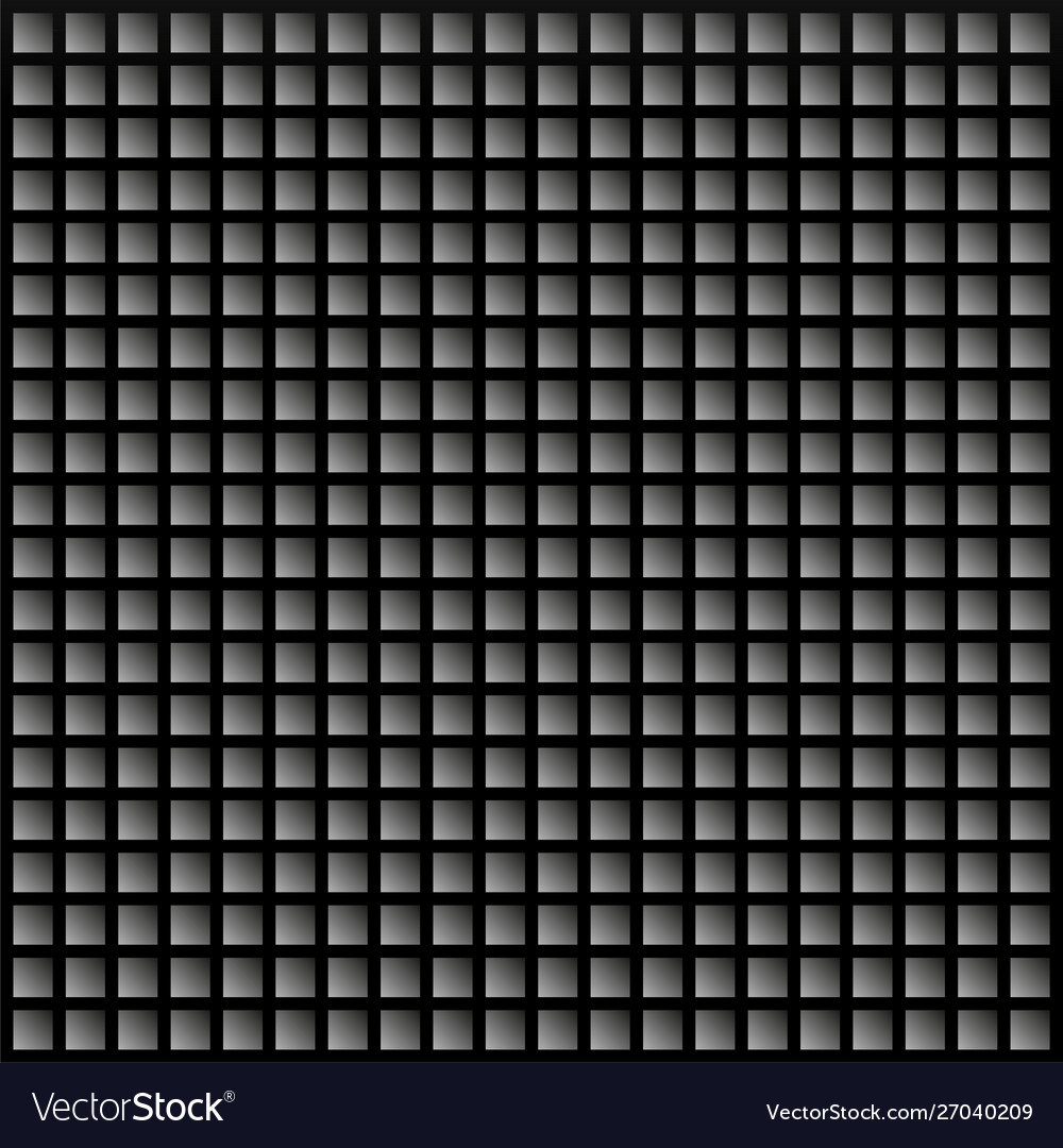 Black background with squares geometric