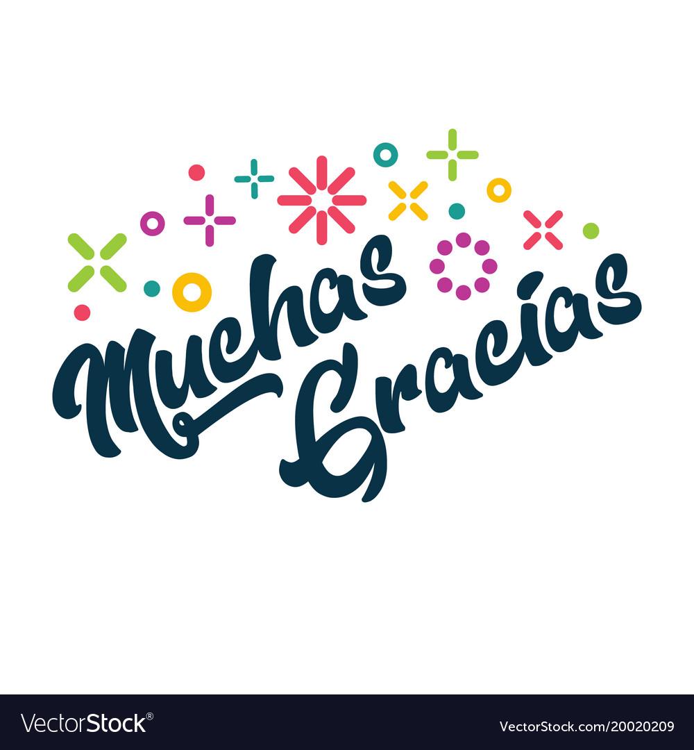Надписью, картинка спасибо на испанском