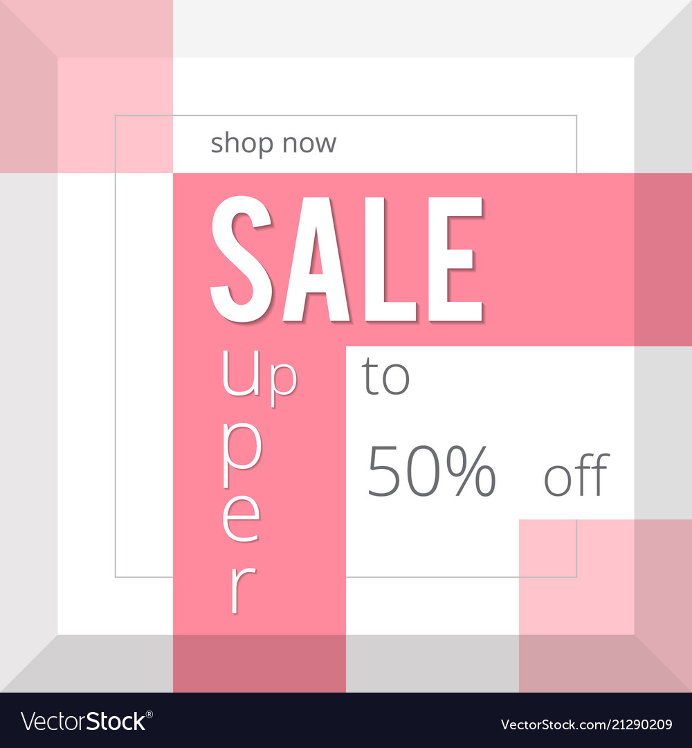 Super sale inscription design template