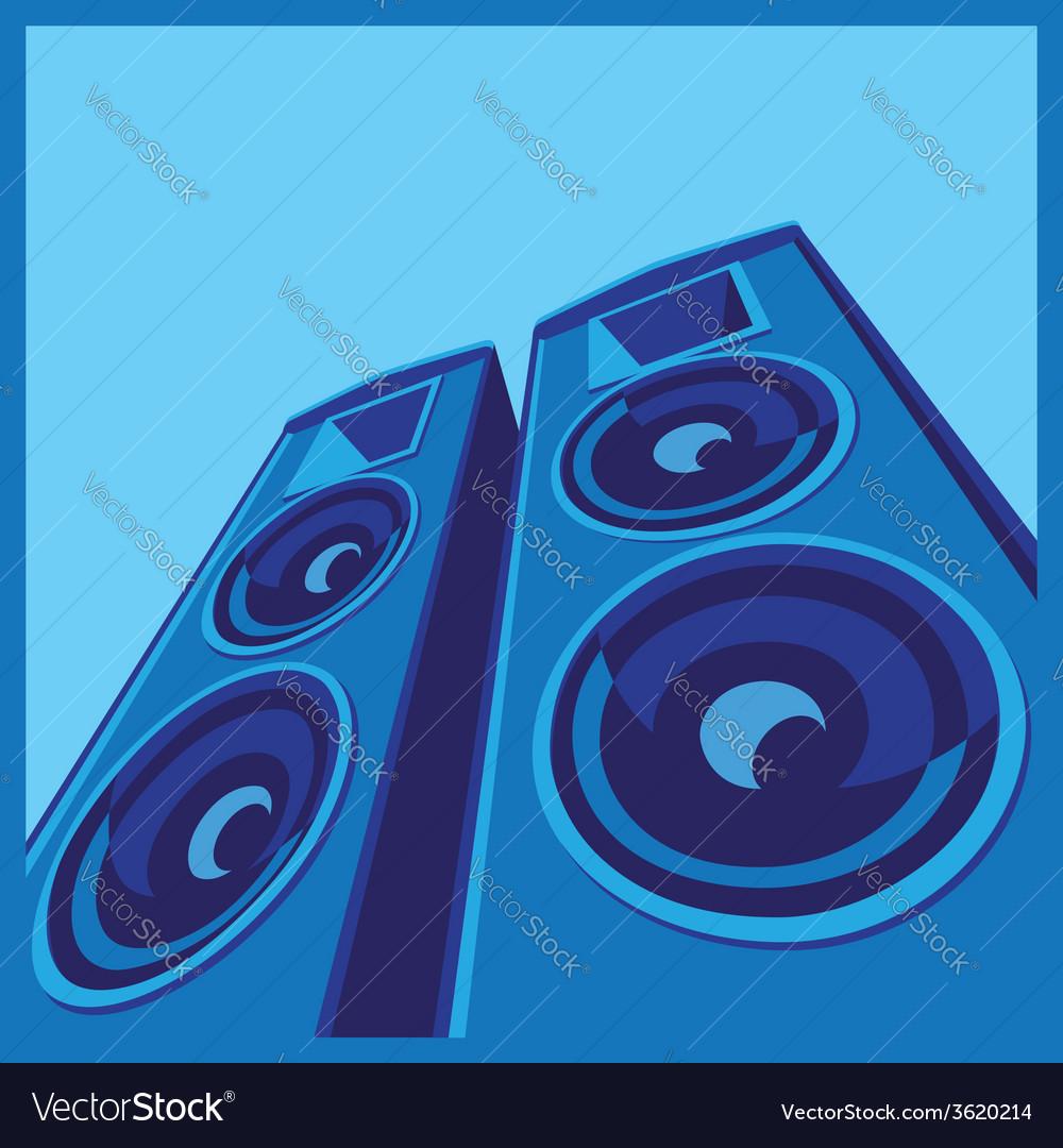 Powerful speaker system