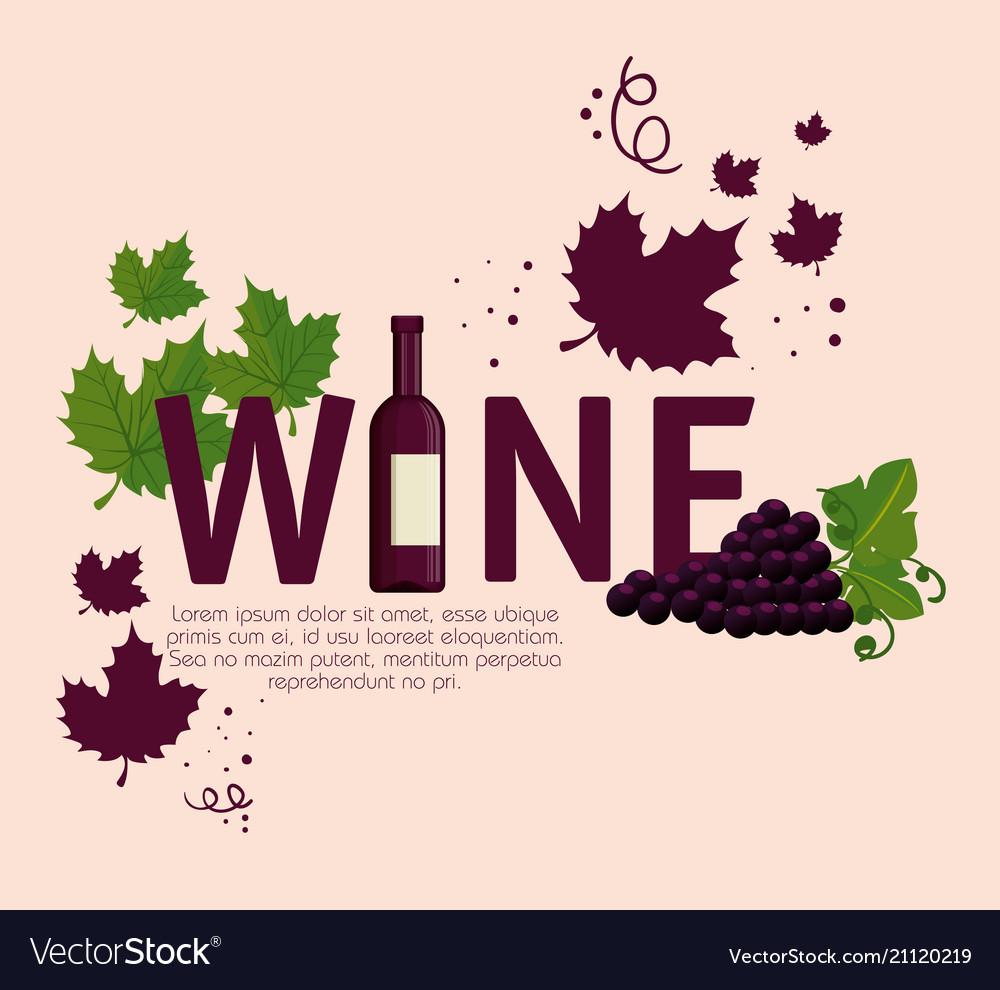 Best wine grapes label
