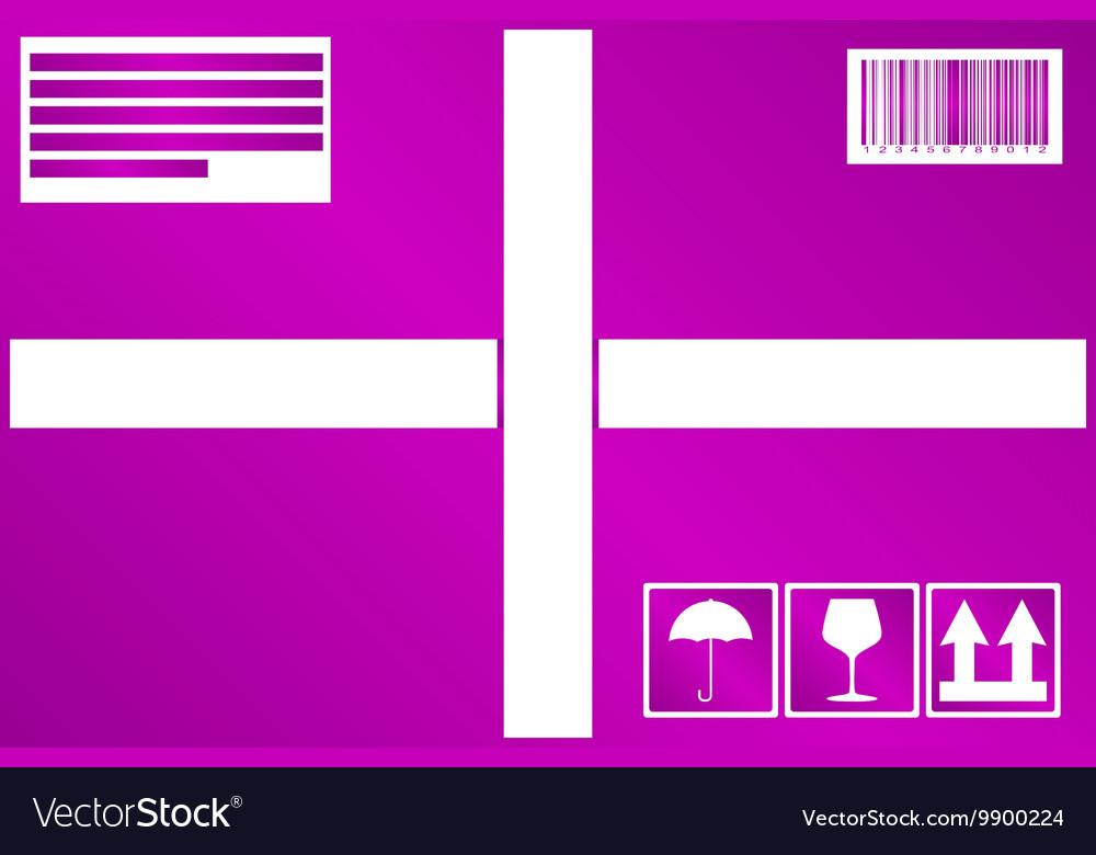 Box icon concept for design vector image