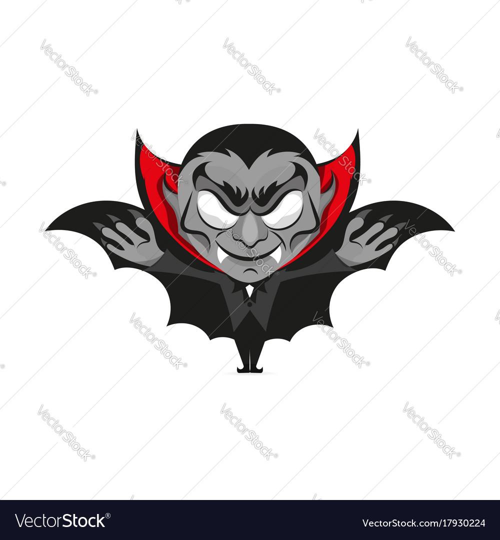Dracula Vampire Halloween Royalty Free Vector Image