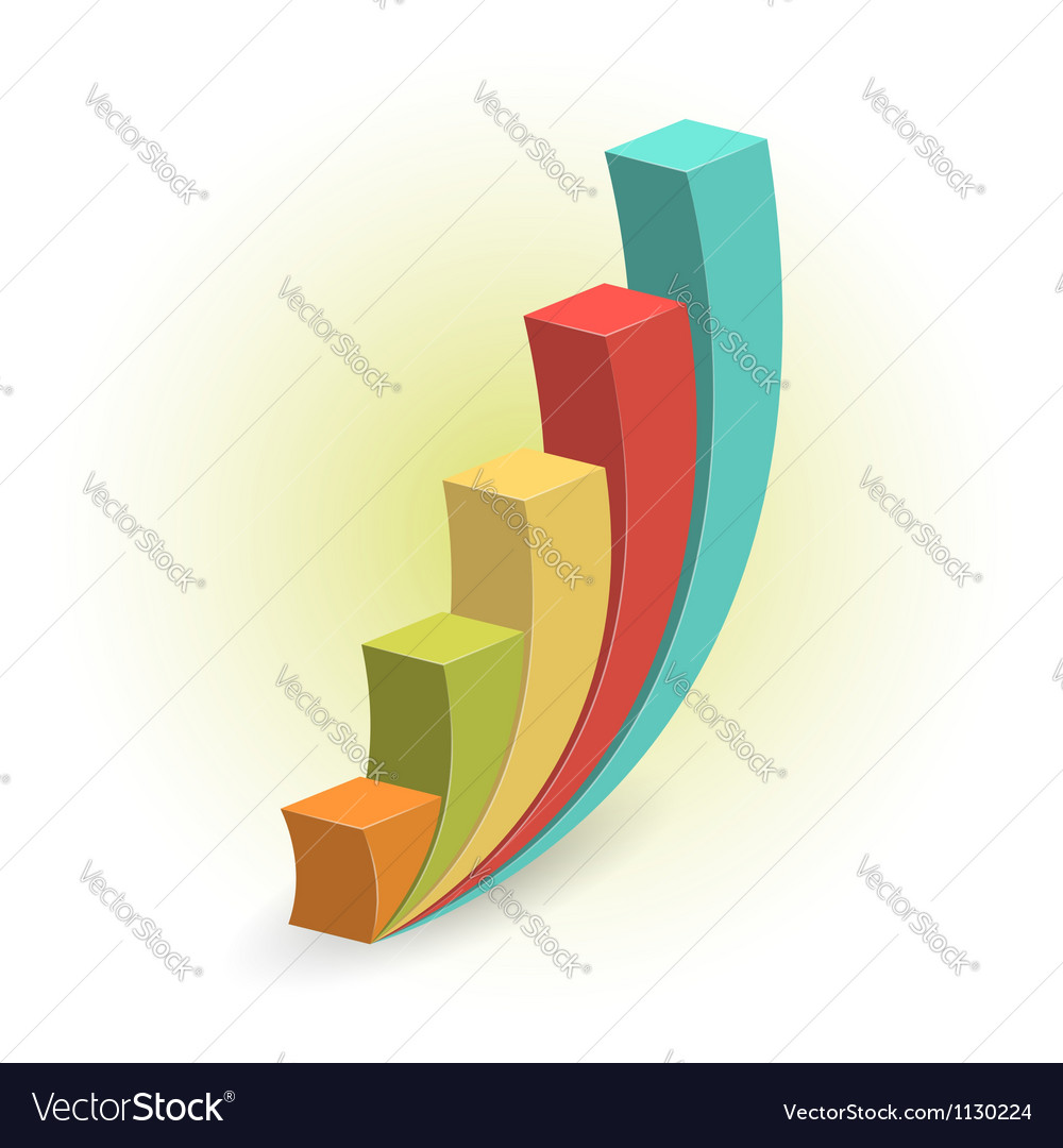 Growth concept design vector image