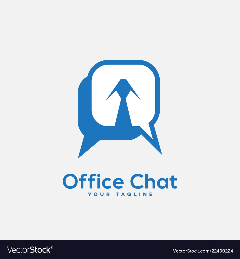 Office chat logo