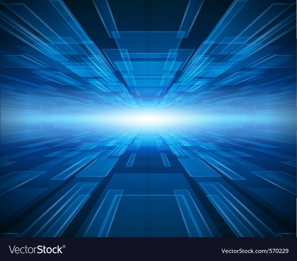 Abstract futuristic background vector image