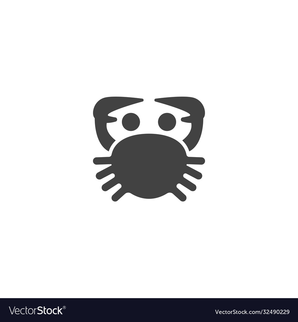 Crab seafood icon