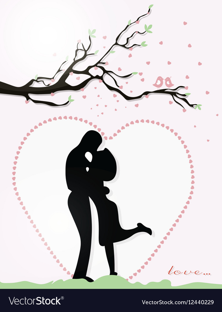 Valentine Day Couple Royalty Free Vector Image