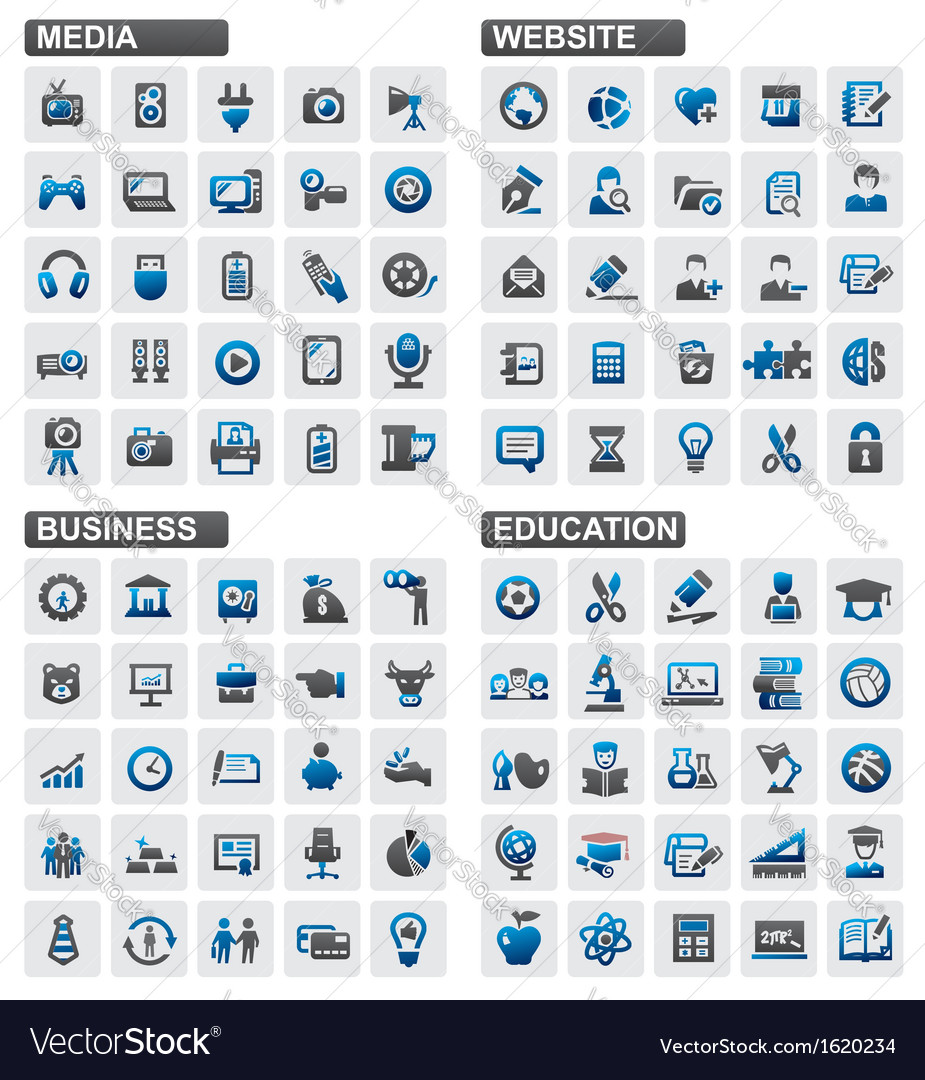 Business education website media