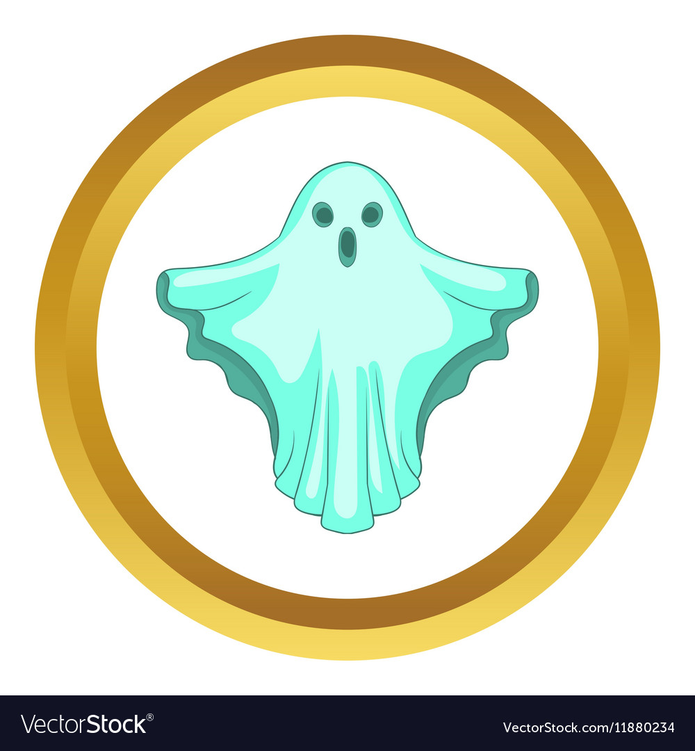 Ghost icon vector image
