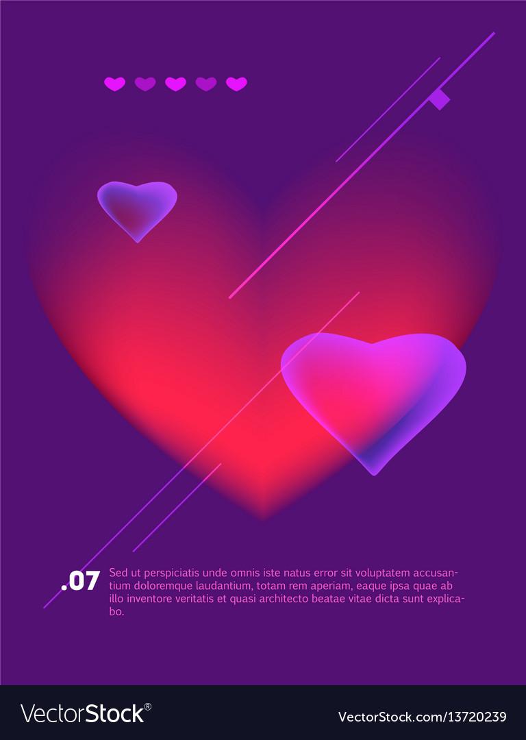 Love poster vintage cinema promotional printing