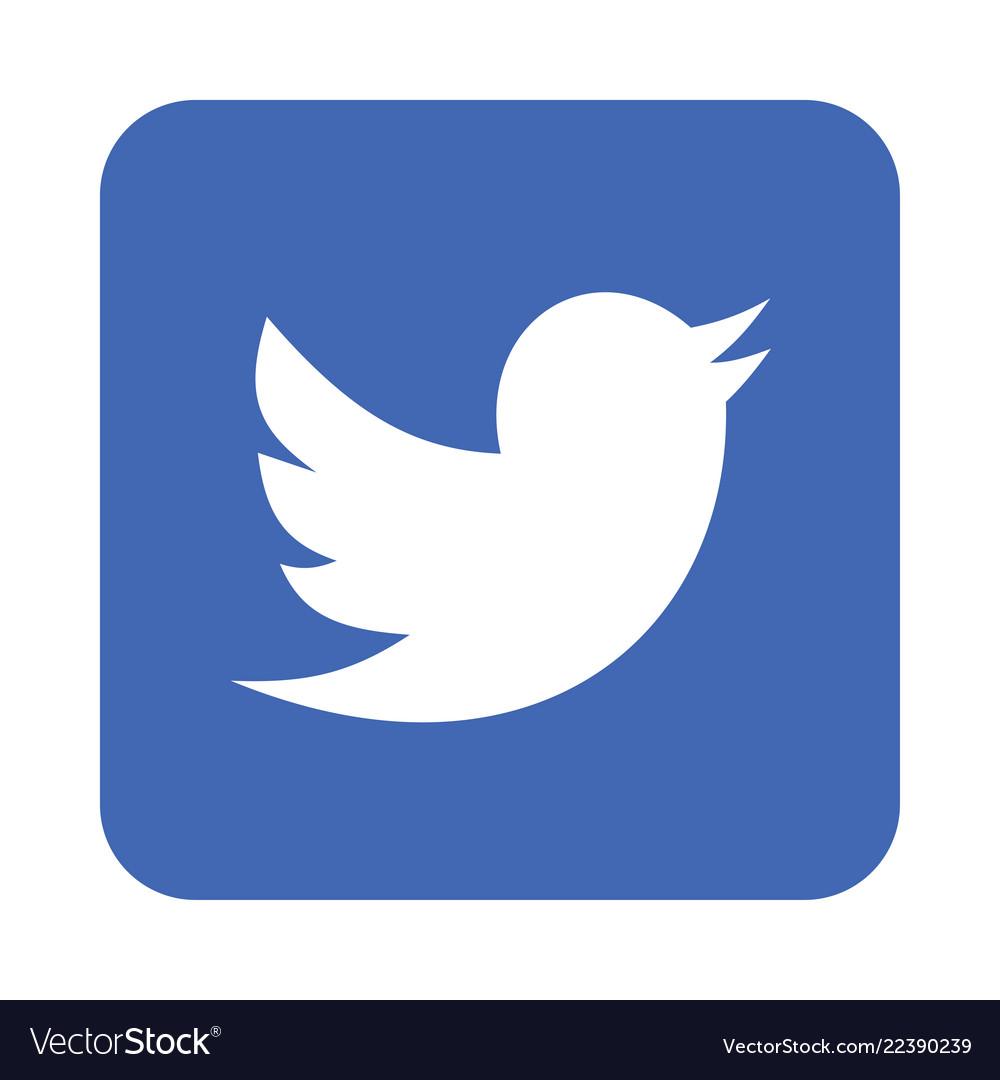 Twitter logo icon