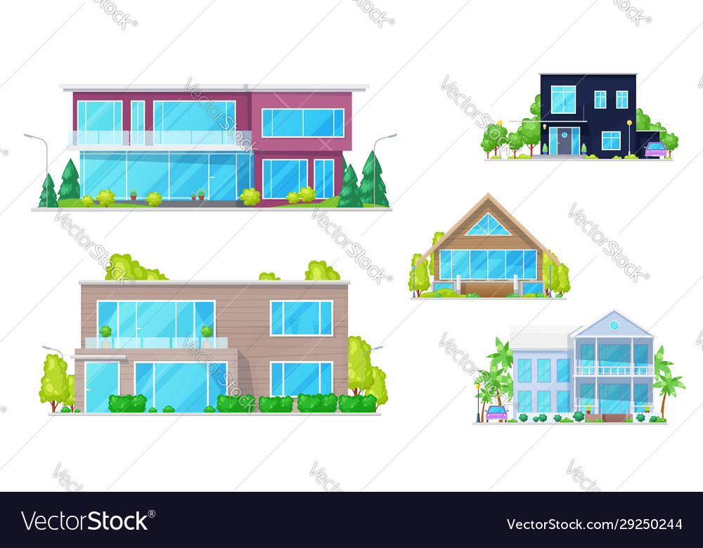 Mansion houses townhouses and family homes