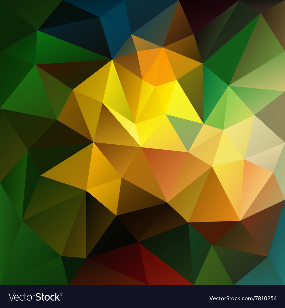 Dark colored abstract polygon triangular pattern