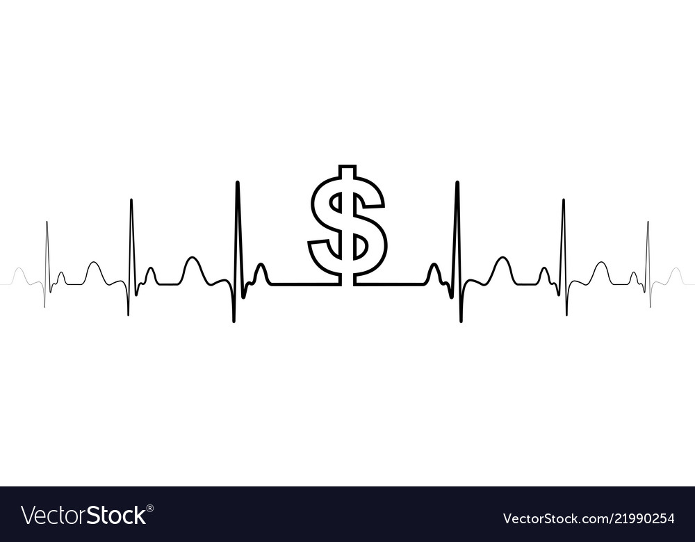 Sign symbol fluctuations in exchange rate dollar
