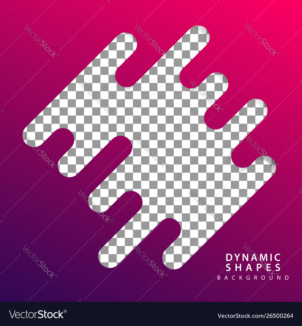Abstract flat dynamic background template