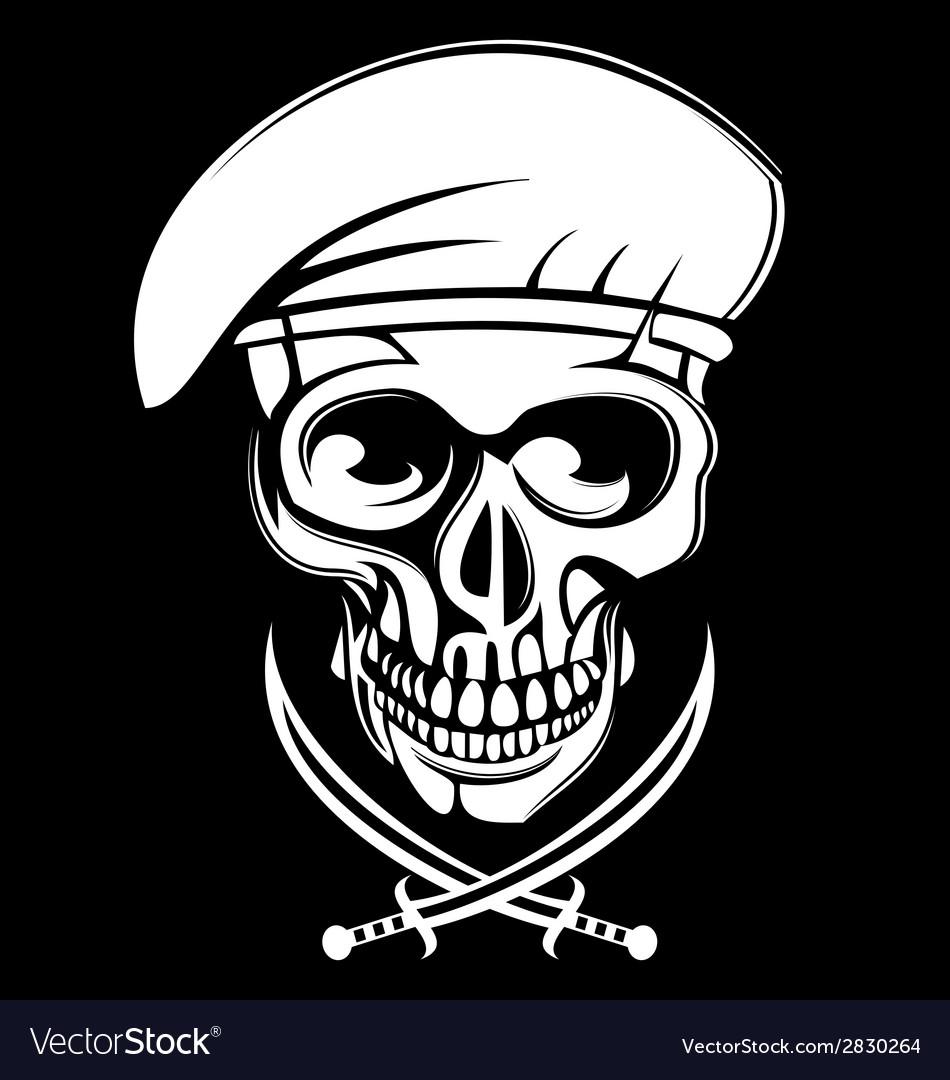 white army skulls royalty free vector image vectorstock vectorstock