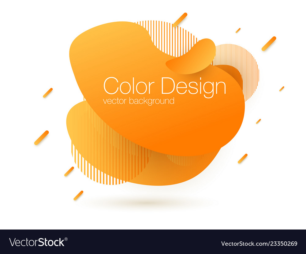 Abstract modern graphic elements gradient