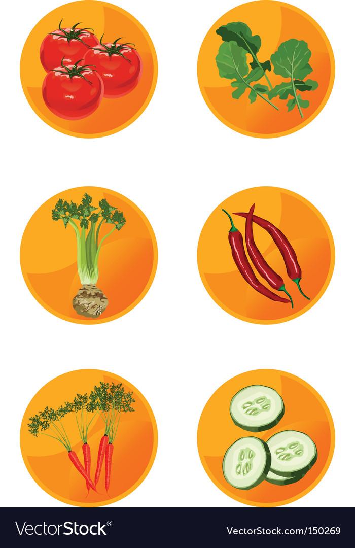 Icons veggies
