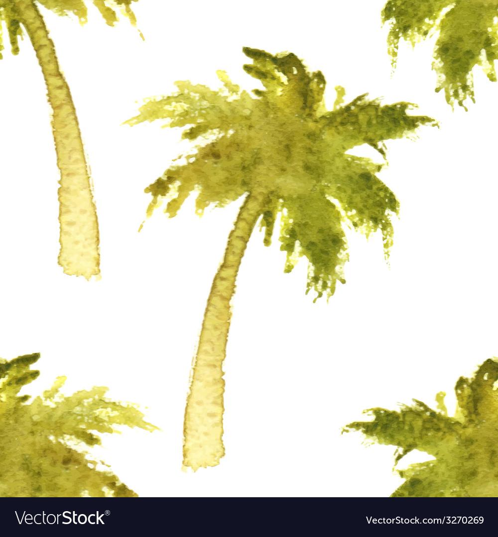 Palm tree seamless