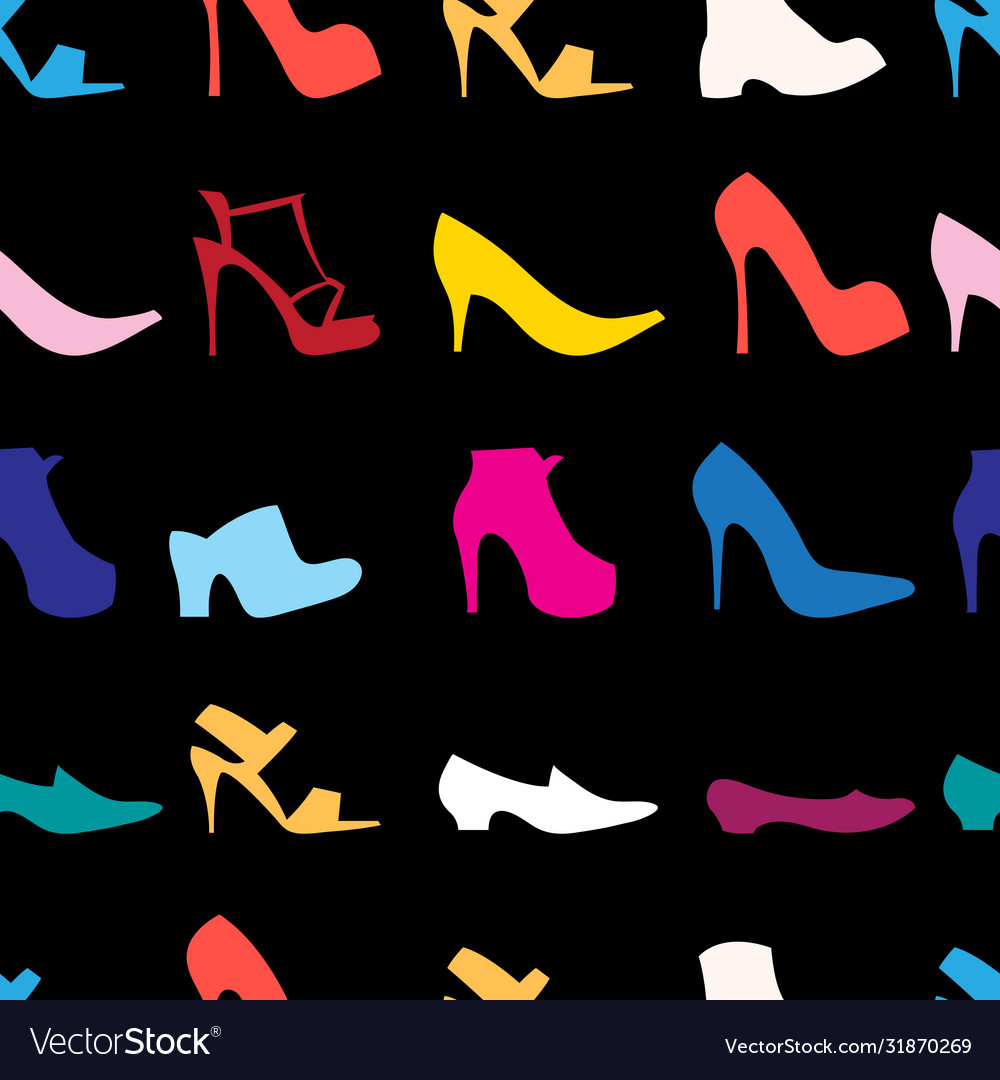 Pattern womens shoes