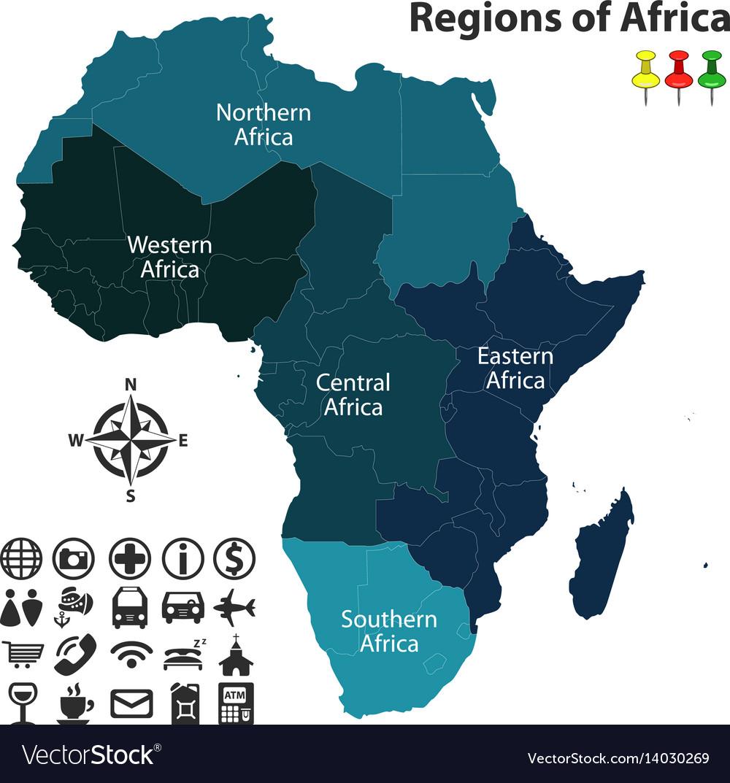 Regions of africa