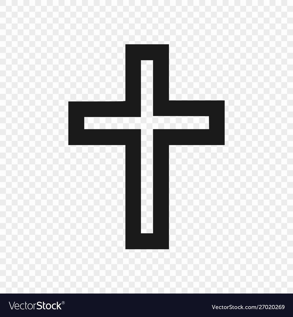 Symbol christian isolated