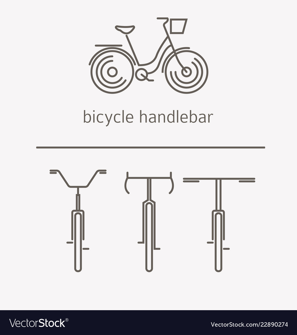 Equipment for transport driving logo set bicycle