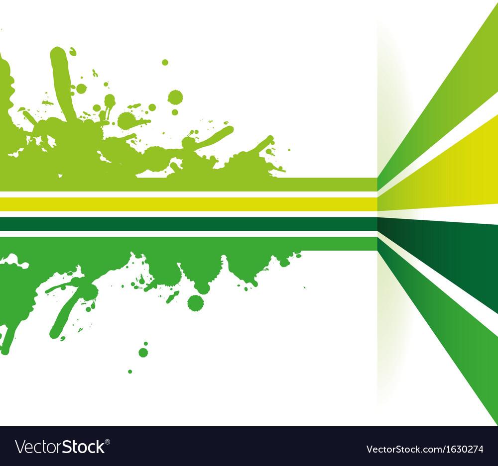 green strip background royalty free vector image vectorstock