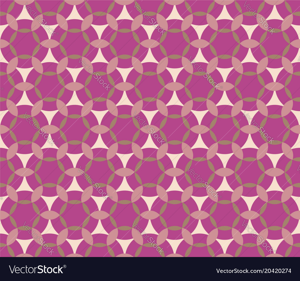 Seamless pattern in pink