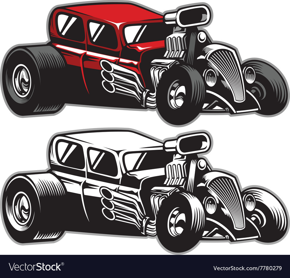 Hotrod custom car