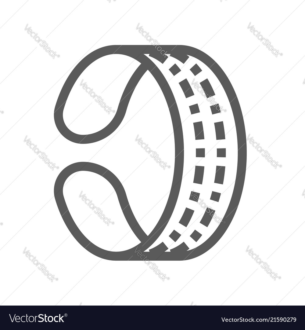 Jewelry flat line icon 48x48 pixels