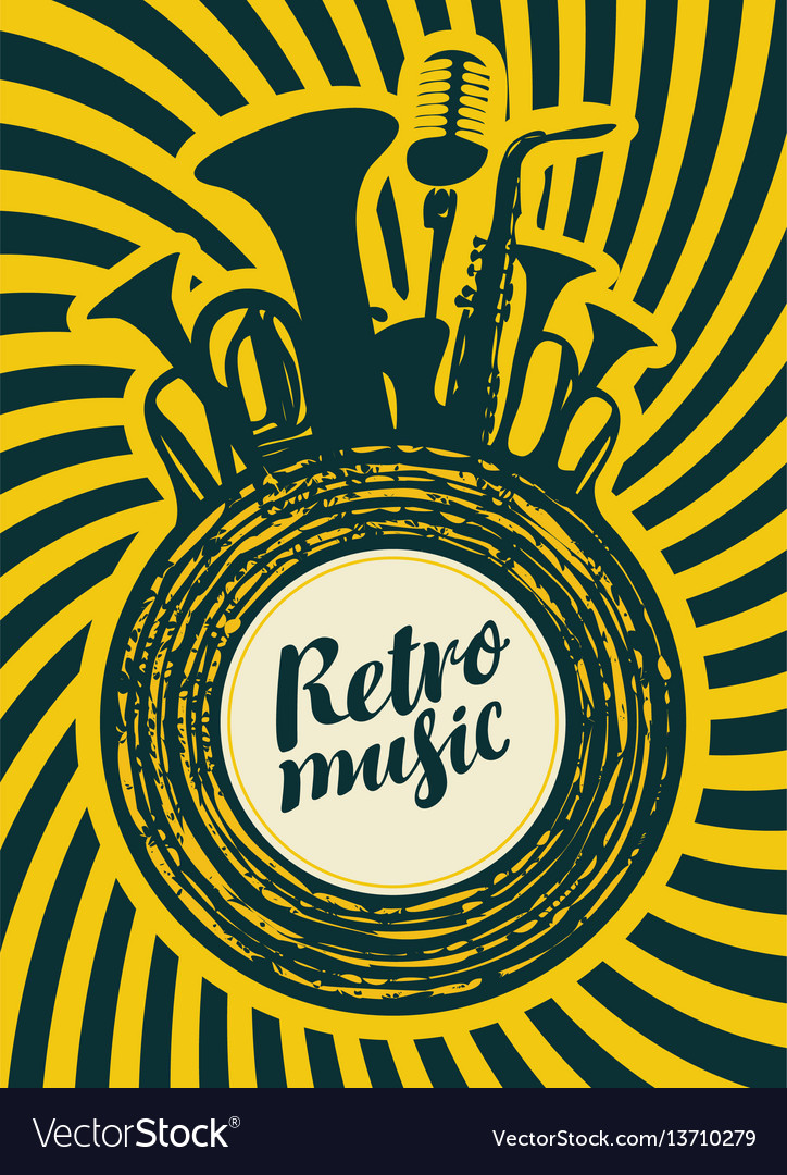 Poster for the retro festival